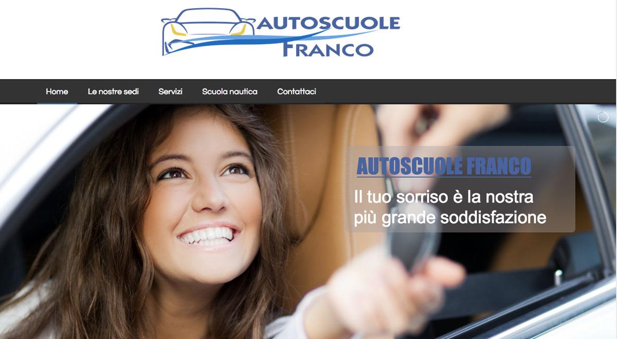 Guarda il restyling del sito di Autoscuole Franco