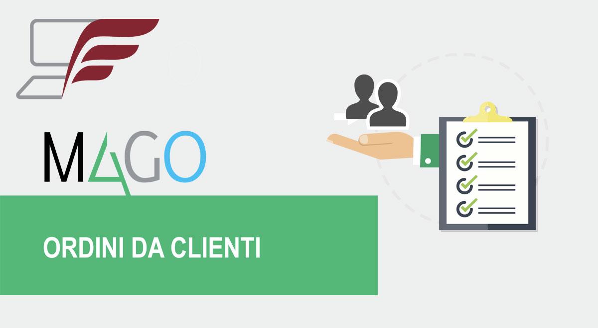 Moduli di Mago4: Ordini da clienti