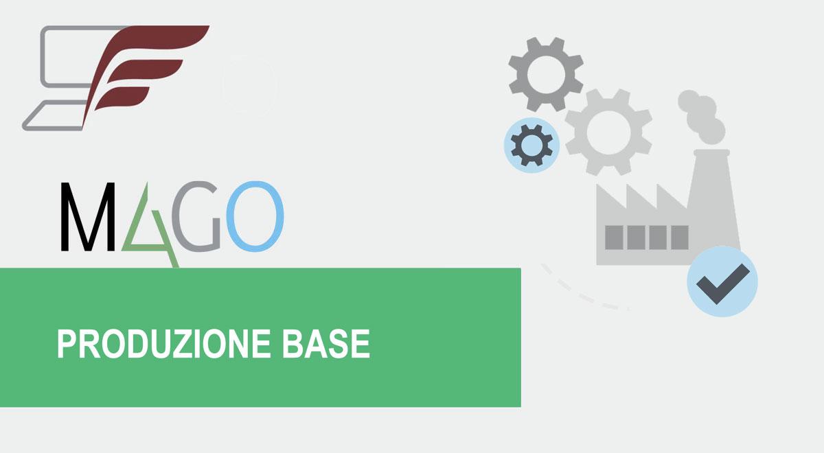 Moduli di Mago4: Produzione Base